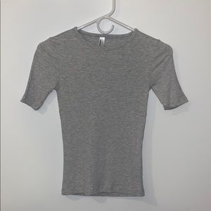 American Apparel Ribbed Tee